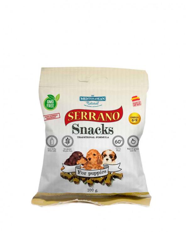 Serrano Snacks para Perros Cachorros