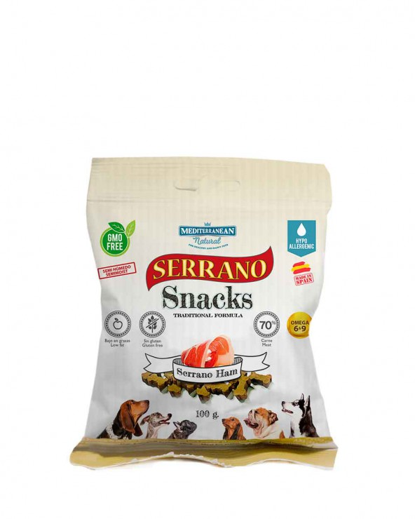 Serrano Snacks Jamón Serrano para Perros