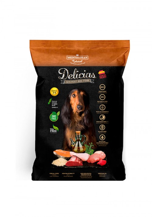 DELICIAS SEMI-MOIST DOG FOOD