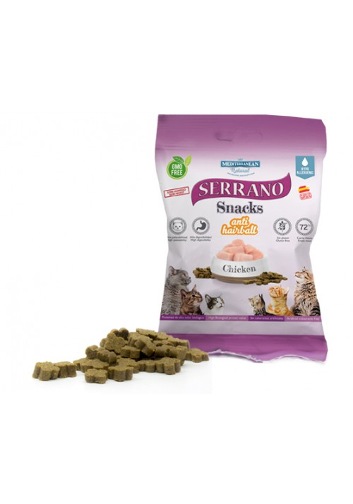 SERRANO SNACKS FOR CATS