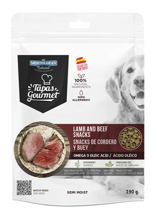 Tapas Gourmet  lamb and beef 190 gr