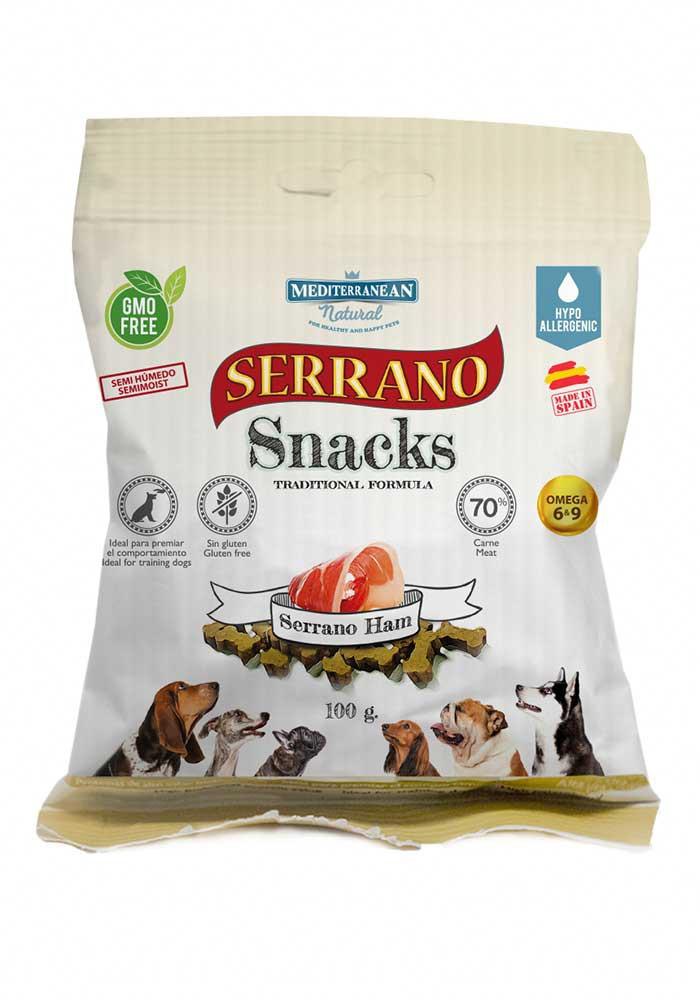 Serrano Snacks bolsa 100 gr