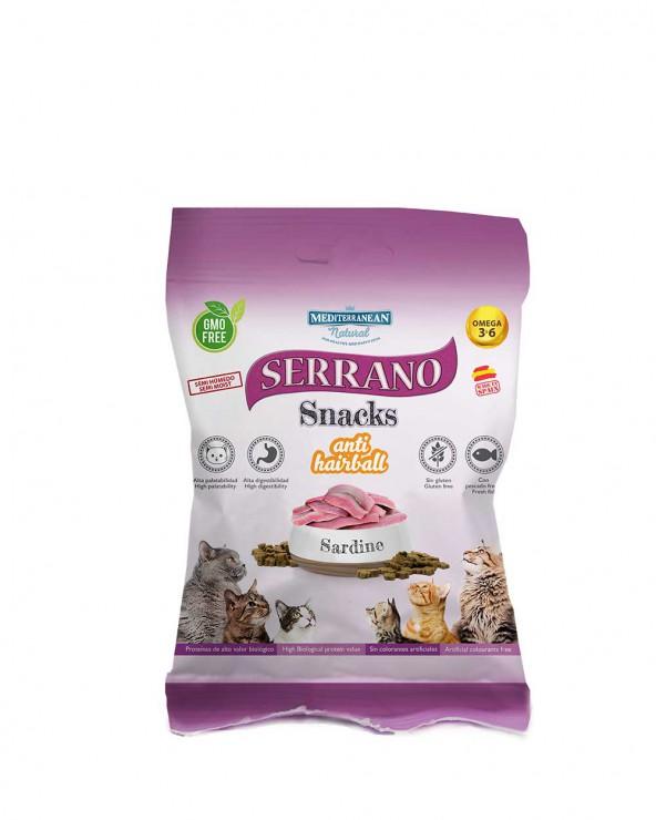 serrano snacks para gatos de sardina de Mediterranean Natural
