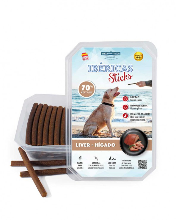 Ibericas Sticks Hígado