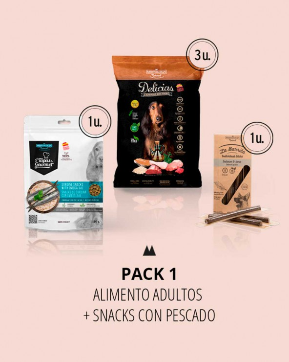 pack 1 snacks pescado